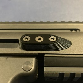 CNC Aluminum Barrel Screw Support (Style A) (Black) - VFC SCAR-L/H
