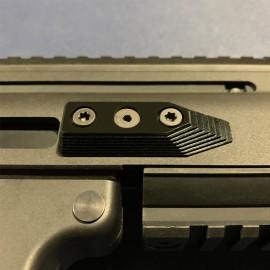 CNC Aluminum Barrel Screw Support (Style B) (Black) - VFC SCAR-L/H
