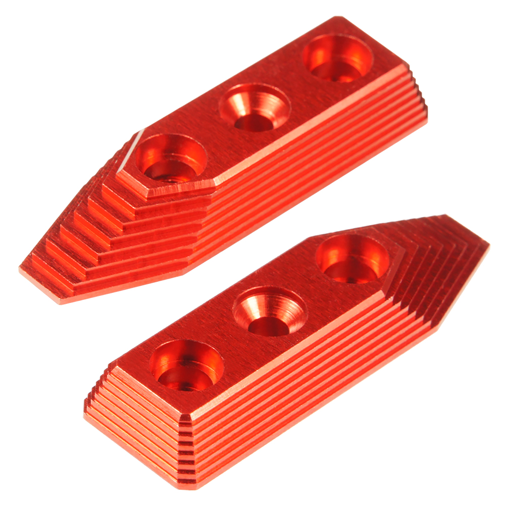 CNC Aluminum Barrel Screw Support (Style B) (Red) - VFC SCAR-L/H