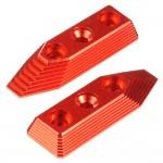 CNC Aluminum Barrel Screw Support (Style B) (Red) - VFC SCAR-L/H