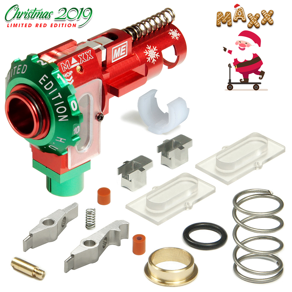 CNC Aluminum Hopup Chamber ME - SPORT (Limited Red Edition)