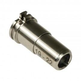 CNC Titanium Adjustable Air Seal Nozzle 19mm - 22mm for Airsoft AEG Series