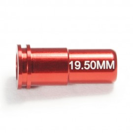 CNC Aluminum Double O-Ring  Air Seal Nozzle (19.50mm) for Airsoft AEG Series