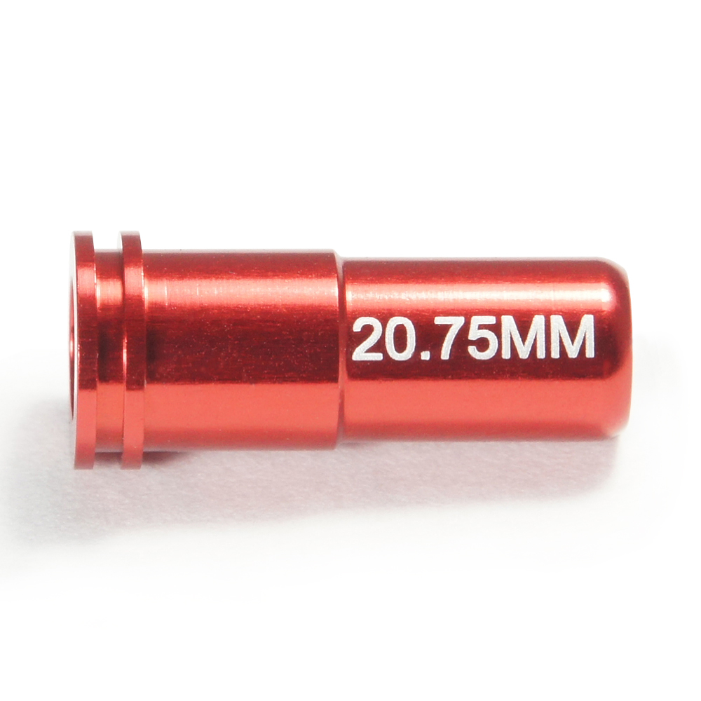 CNC Aluminum Double O-Ring  Air Seal Nozzle (20.75mm) for Airsoft AEG Series
