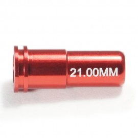 CNC Aluminum Double O-Ring  Air Seal Nozzle (21.00mm) for Airsoft AEG Series