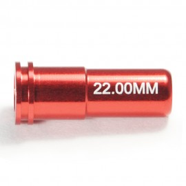 CNC Aluminum Double O-Ring  Air Seal Nozzle (22.00mm) for Airsoft AEG Series