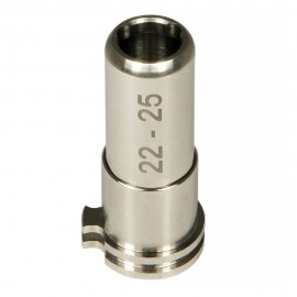 CNC Titanium Adjustable Air Seal Nozzle 22mm - 25mm for Airsoft AEG Series