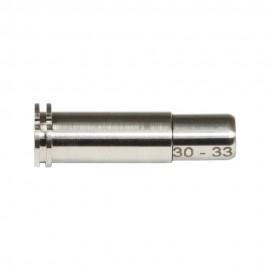 CNC Titanium Adjustable Air Seal Nozzle 30mm - 33mm for Airsoft AEG Series