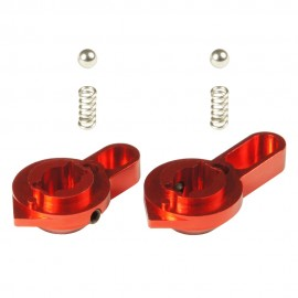 CNC Aluminum Low Profile Selector Lever (Style A) (Red) - VFC SCAR-L/H