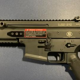 CNC Aluminum Low Profile Selector Lever (Style B) (Black) - VFC SCAR-L/H