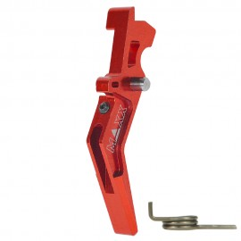 CNC Aluminum Advanced Trigger (Style A) (Red)
