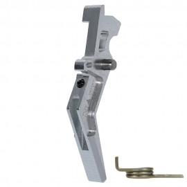 CNC Aluminum Advanced Trigger (Style A) (Silver)