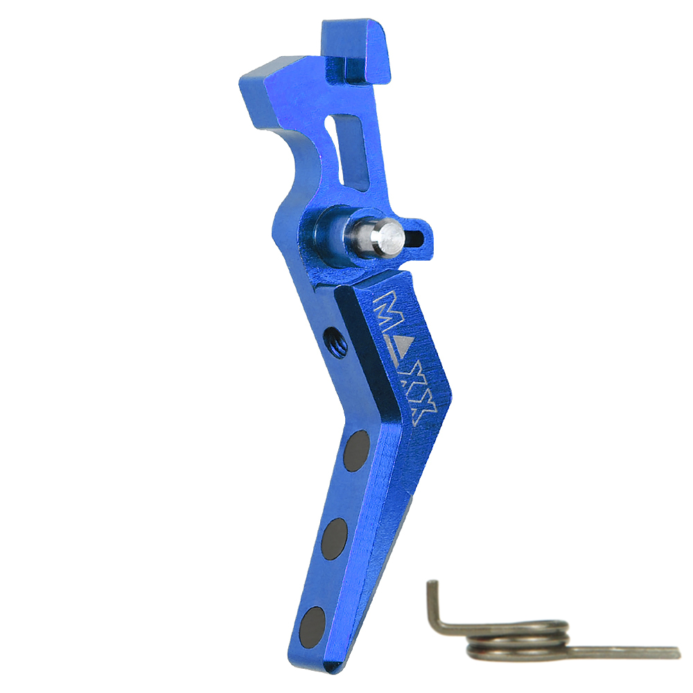 CNC Aluminum Advanced Trigger (Style A) (Blue)