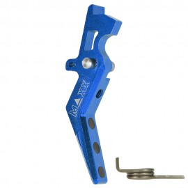 CNC Aluminum Advanced Trigger (Style A) (Blue)
