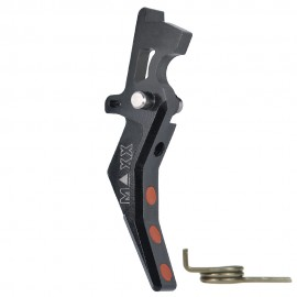 CNC Aluminum Advanced Trigger (Style B) (Black)