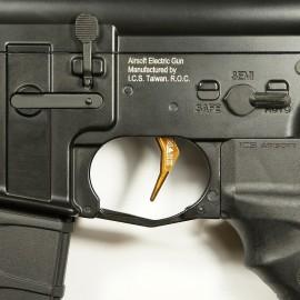 CNC Aluminum Advanced Trigger (Style B) (Dark Earth)