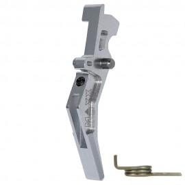 CNC Aluminum Advanced Trigger (Style B) (Silver)