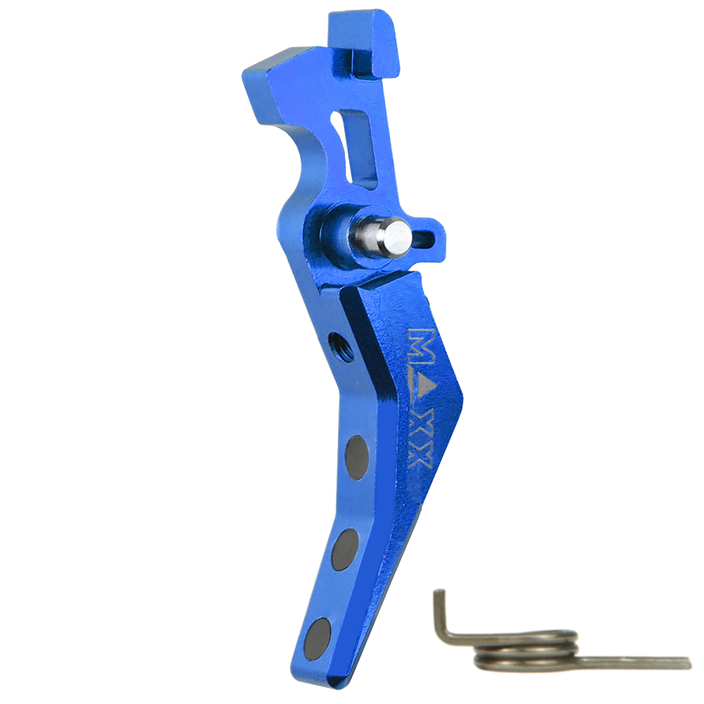 CNC Aluminum Advanced Trigger (Style B) (Blue)
