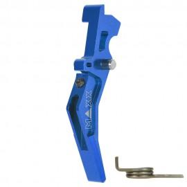 CNC Aluminum Advanced Trigger (Style B) (Blue)