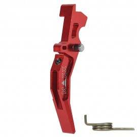 CNC Aluminum Advanced Trigger (Style C) (Red)