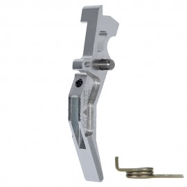 CNC Aluminum Advanced Trigger (Style C) (Silver)