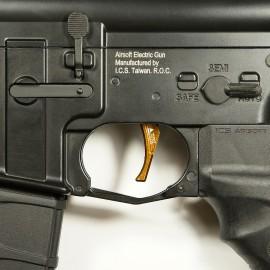 CNC Aluminum Advanced Trigger (Style D) (Dark Earth)