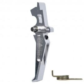 CNC Aluminum Advanced Trigger (Style E) (Silver)