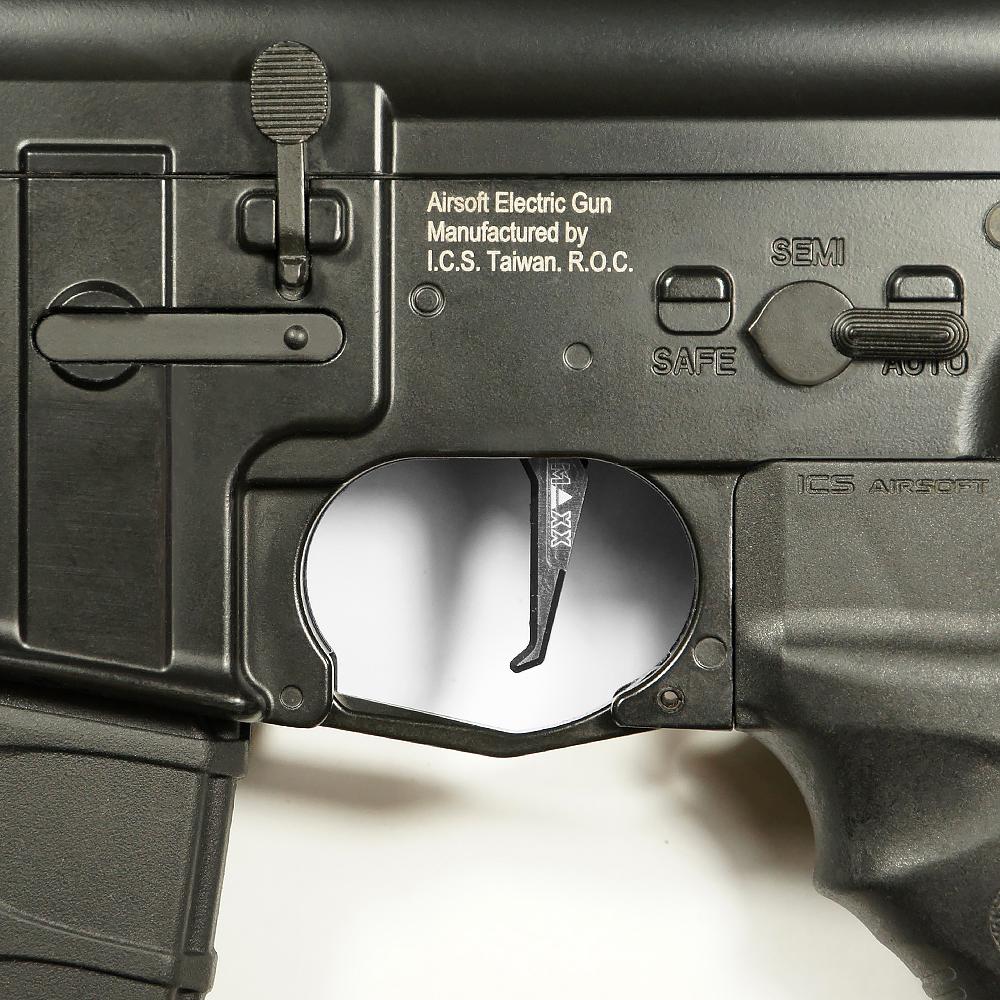 CNC Aluminum Advanced Trigger (Style E) (Titan)