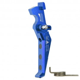 CNC Aluminum Advanced Trigger (Style E) (Blue)