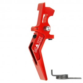 CNC Aluminum Advanced Speed Trigger (Style A) (Red)