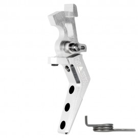 CNC Aluminum Advanced Speed Trigger (Style A) (Silver)