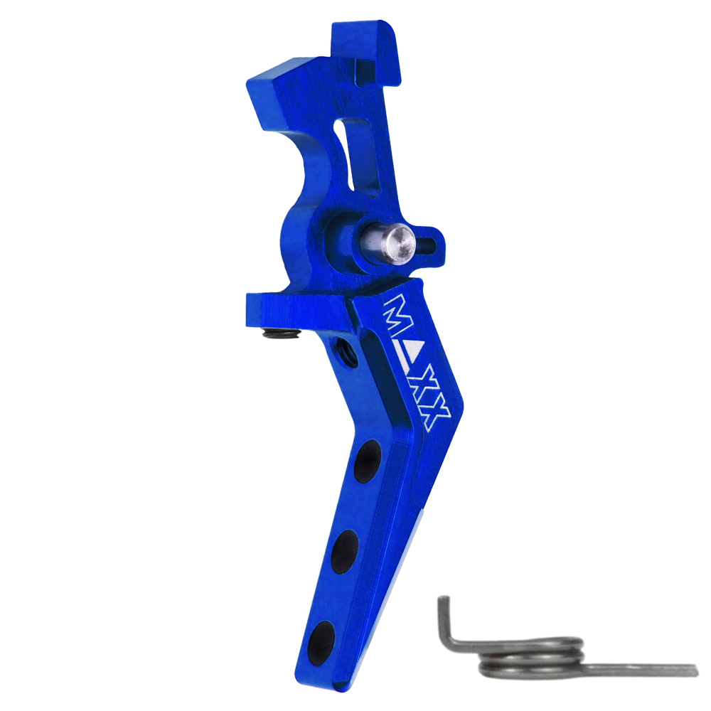 CNC Aluminum Advanced Speed Trigger (Style A) (Blue)
