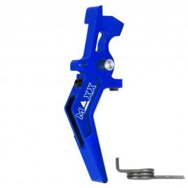 CNC Aluminum Advanced Speed Trigger (Style A) (Blue)