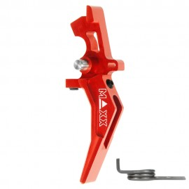 CNC Aluminum Advanced Speed Trigger (Style B) (Red)