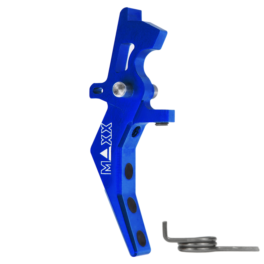 CNC Aluminum Advanced Speed Trigger (Style B) (Blue)