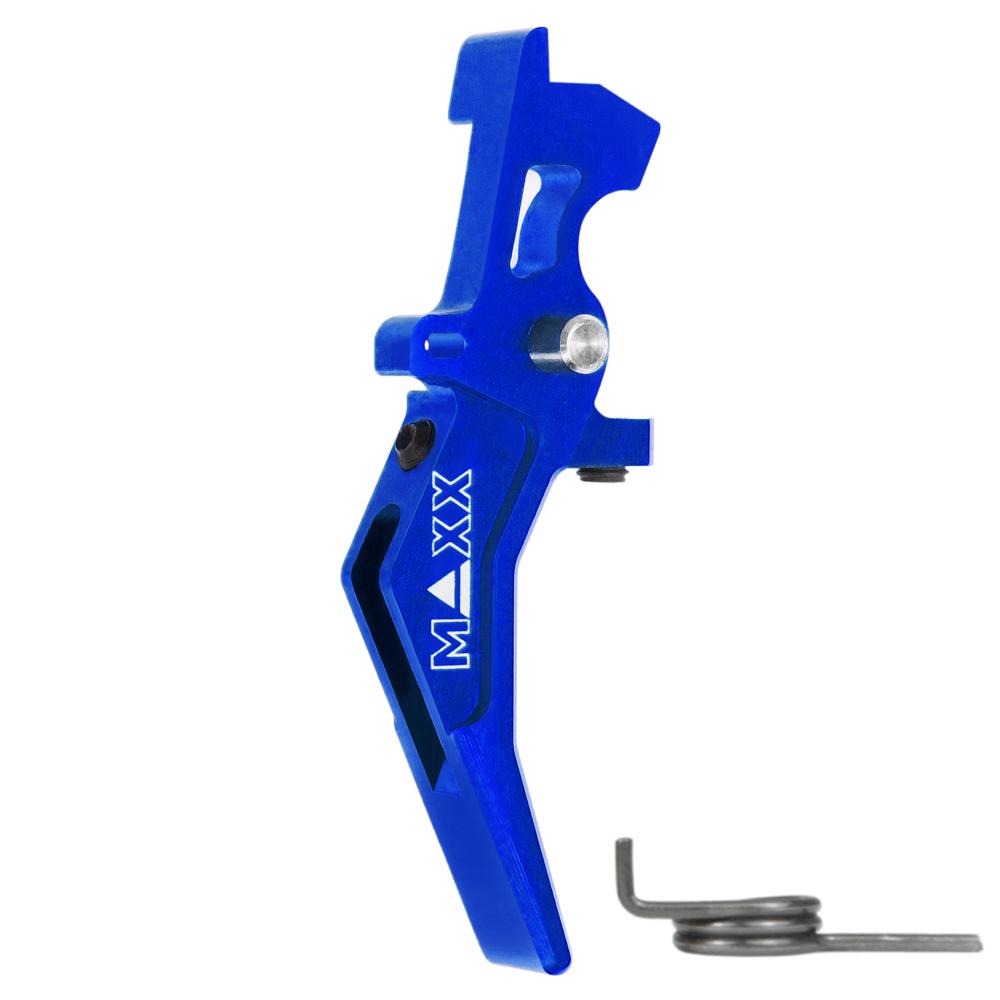 CNC Aluminum Advanced Speed Trigger (Style B) (Blue)