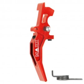 CNC Aluminum Advanced Speed Trigger (Style C) (Red)