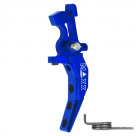CNC Aluminum Advanced Speed Trigger (Style C) (Blue)