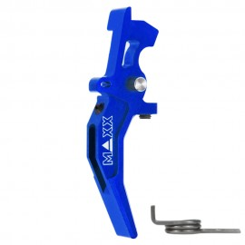 CNC Aluminum Advanced Speed Trigger (Style C) (Blue)