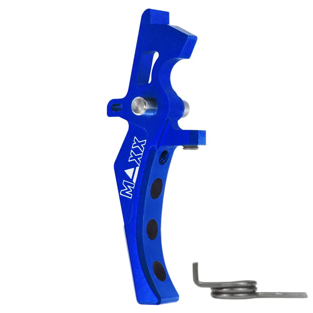 CNC Aluminum Advanced Speed Trigger (Style D) (Blue)