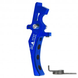 CNC Aluminum Advanced Speed Trigger (Style D) (Blue)