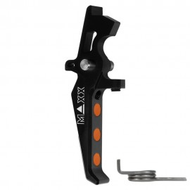 CNC Aluminum Advanced Speed Trigger (Style E) (Black)