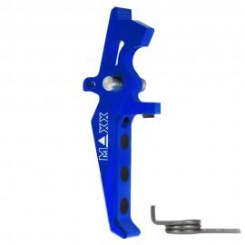 CNC Aluminum Advanced Speed Trigger (Style E) (Blue)